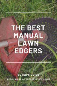 best manual lawn edgers pin