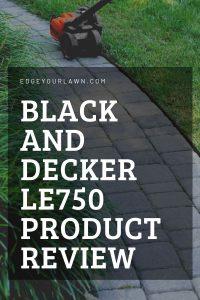 black and decker lawn edger pin