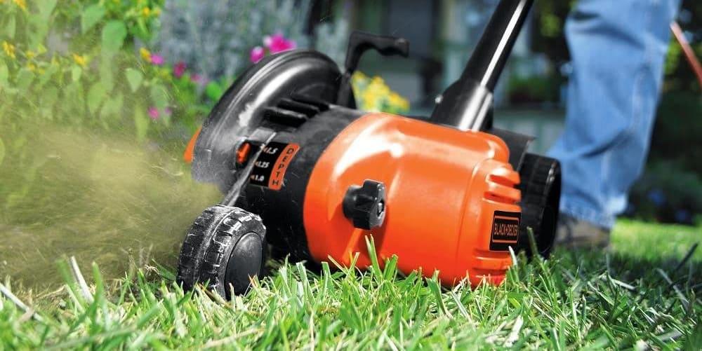black and decker lawn edger