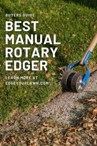 manual rotary edger