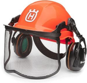 weed eater head protection