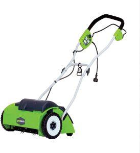 greenworks lawn detatcher