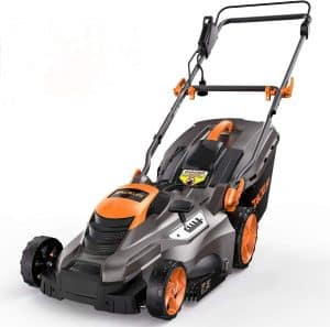 tacklife corded lawn mower