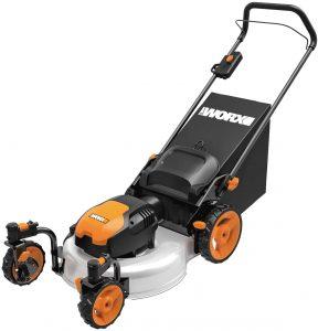 worx corded lawn mower